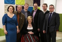 Die WIR-Gemeinderäte: Birgit Steinkellner, Erwin Zeitlhofer, Stefan Zeitlhofer, Monika Mautz, Michael Burghofer, Michael Wagner, Markus Krenn (von links)